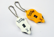 2pcs+New Referee Golf Stroke Shot Putt Score Counter Keeper Key Chain