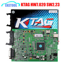 2017 New! Online Version No Tokes Limited KTAG 7.020 ECU Programming Tool Master Version SW2.23 K-TAG V7.020 Encrypted New Cars