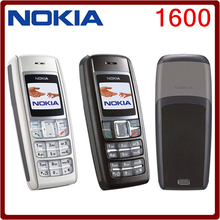 1600 Original Nokia 1600 Cell Phone Dual band GSM Unlocked Phone GSM 900 / 1800 Free Shipping(China)