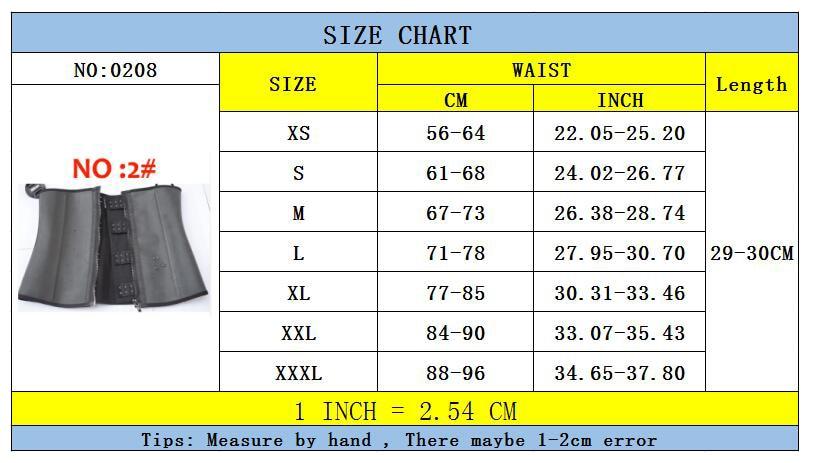 0208 zipper latex corset