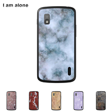 For LG Google Nexus 4 E960 4.7 inch Mobile Phone Cover Hard Plastic Case Cellphone Mask Color Paint Skin Bag Shipping Free