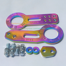 BENEN Tow Hook Front Tow Hook Neo Chrome Rear Tow Hook Racing Car Tow Hook High Quality(China)