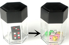 Trick Toys Big Explode Explosion Dice Close Up Magic Trick Joke Prank Toy Children Kids Gift(China)