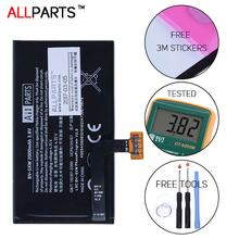 Allparts 100% ORIGINAL Full Capacity BV-5XW 2000mAh Li-ion Polymer Battery For Nokia Lumia 1020 Battery Replacement Parts