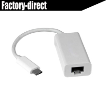 USB-C to Gigabit Network Adapter USB 3.1 USB Type-C Ethernet Adapter for New apple macbook Chromebook Pixel Acer Aspire