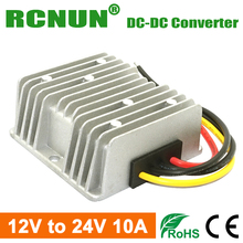 DC Boost Module Converter 12V to 24V DC-DC Converter 10A 240W Step Up Power Converters Regulators Waterproof