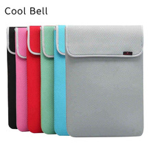 "Cool Bell Brand Sleeve Case For Laptop 7"",8"",10"",11"",12"",13"",14"",15"",15.6"",17"",17.3 inch Bag For MacBook Notebook,Free Shipping"