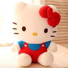 Cute 30CM classic Hello Kitty plush toy doll hold pillow cushion nanoparticle stuffed toy baby girl birthday gift 1 pc