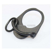 free shipping - GBB Buttstock End Plate Double Loop Hook Sling stock accessories Adapter Mount for AR15 M4 M16 AK(China)