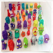10pcs/lot Colorful cartoon anime action figure toy PVC soft garbage trash pack zombie cartoon anime action figure toy