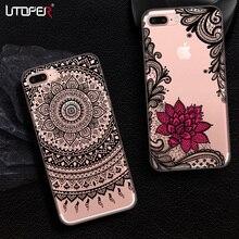 UTOPER Lace Case iPhone X 8 7 Case iphone 6 6s Plus 7Plus 5 5S SE Xiaomi Mi A1 6X 5X Redmi 5 4x 4A Note 5a 4 Case