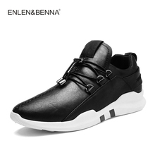 Running Shoes Jogging Textile Sneakers Mesh Breathable Outdoor Comfortable Sports Black white For Man Walking Shoes New Arrival(China)