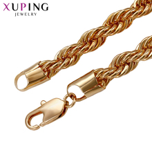 11.11 Deals Xuping Fashion Noble Atmosphere Necklace Environmental Copper for Men Thanksgiving Day Jewelry Gift S71-43824(China)