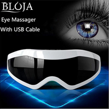 Eye care Mask Migraine USB Eye massage  device Vibration Release Alleviate Fatigue eye protection instrument eye nanny massager