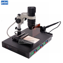 PUHUI T862 IRDA Infrared Bga Rework Machine BGA SMD SMT Desoldering Rework Station(China)