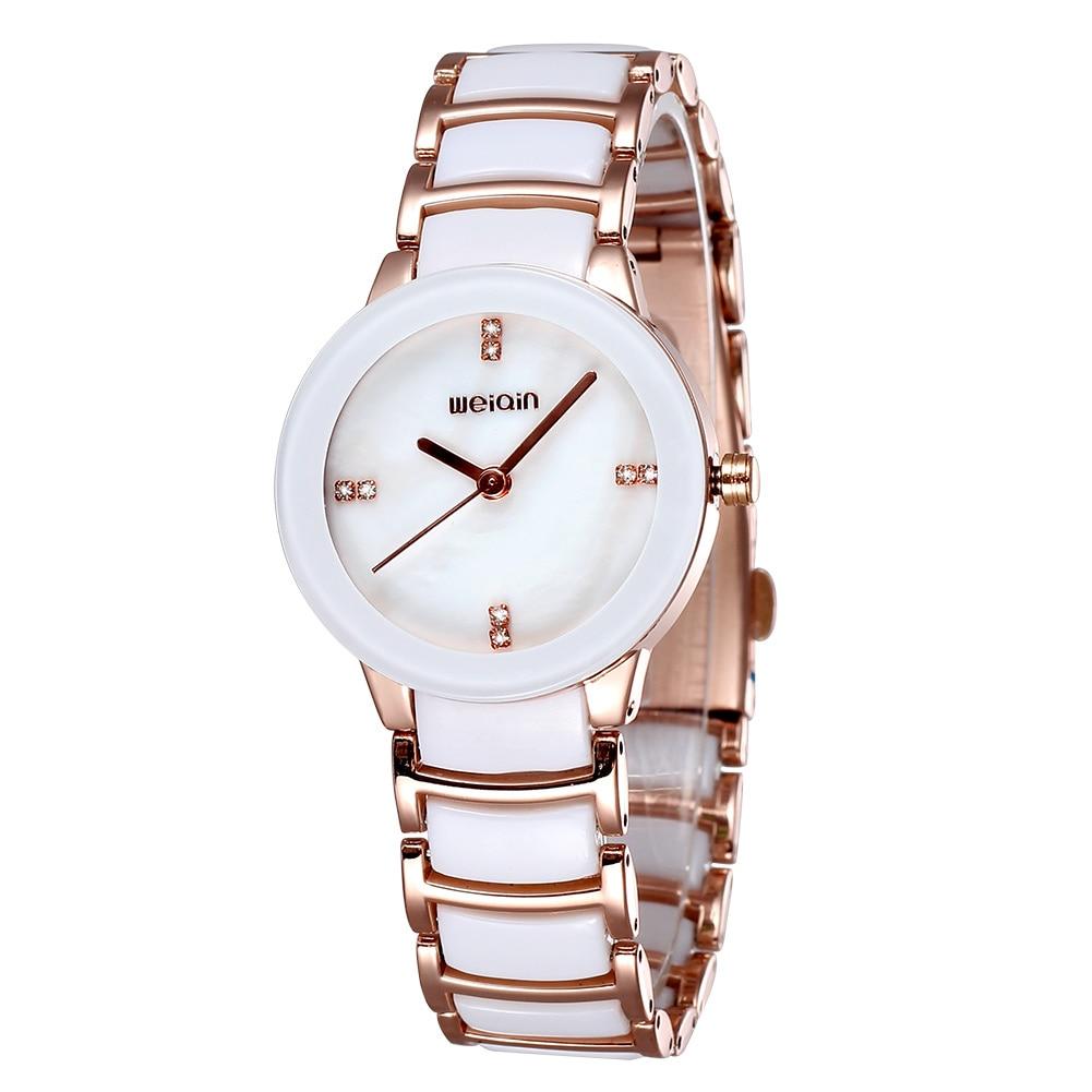 2017 Brand Watches Fashion Casual Ceramic Watch Women Quartz Rhinestones Ladies Wristwatches<br>