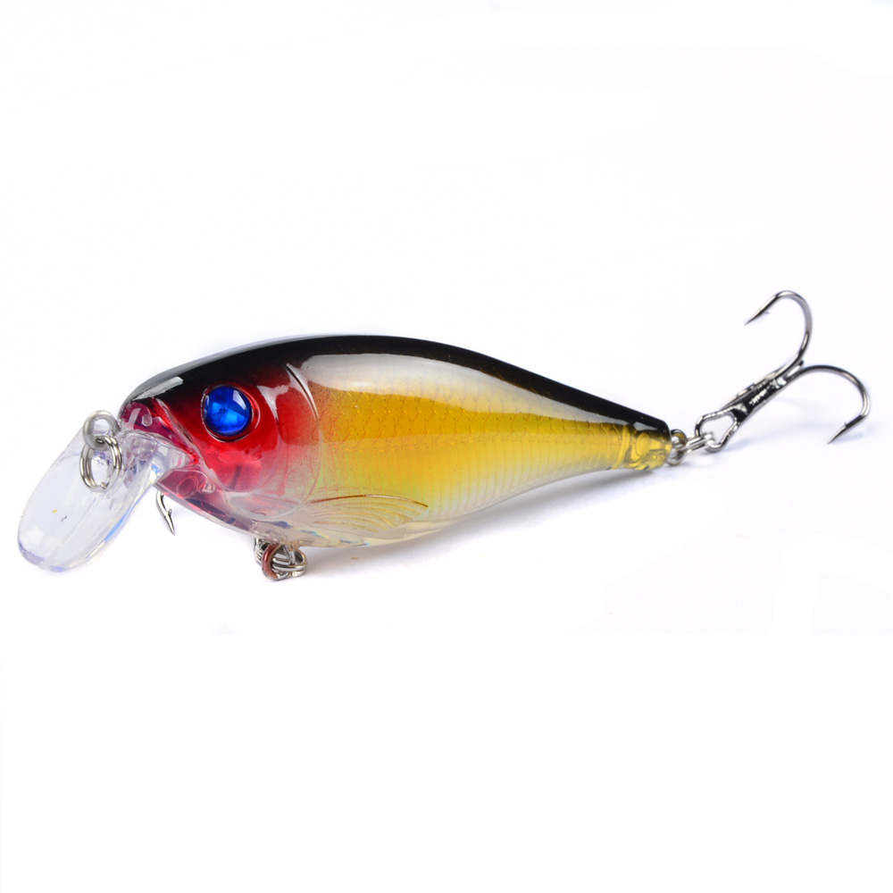 LINGYUE 1PCS Fishing Lures 8.5cm/12.5g Minnow Hard Baits Artificial Make High Quality Bass Crankbait Wobblers Fish Tackle 7