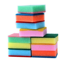 10PCS Cleaning Sponges Universal Sponge Brush Set Kitchen Cleaning Tools Helper Sep7