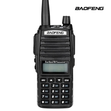 High quality BaoFeng uv-82 Portable Ham Radio Walkie Talkie Dual PTT Handle Radio sister Baofeng UV-5r + Earphone baofeng UV 82
