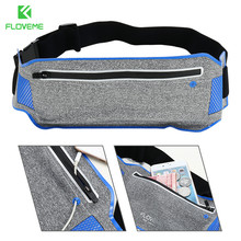 FLOVEME 5.5'' Universal Sport Waist Bag Case For iPhone 6 6s Plus 7 7 Plus 5 SE Samsung Galaxy Note 7 S7 S6 Edge Running Pouch