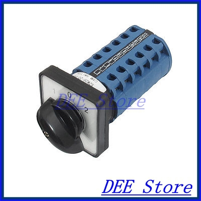 AC 660V 20A 24 Terminals 3 Positions Rotary Selector Cam Changeover Switch<br><br>Aliexpress