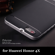 Amazing top quality 100% original ipaky brand case for huawei honor 4X silicone case in stock(China)