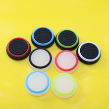 16 pcs/lot Rubber Silicone Analog Thumb Stick Grips Cap Cover for Playstation PS4 PS 3 Controller Thumbsticks Caps for Xbox 360