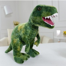 60cm  Plush Dinosaur Toy Simulation Trex Doll Big Animal Stuffed Toy Kids Toys Birthday Gift For Boy High Qualit