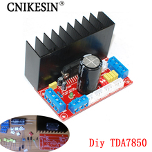 CNIKESIN DIY TDA7850 amplifier board 4 channel car amplifier board 4*50W, diy electronic 4 channel MOSFET high fidelity suite(China)