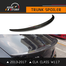 Buy CLA Class Carbon Spoiler W117 AMG Style Trunk Wing Rear Bootlid Lip Accessories 2013-2017 CLA180 CLA200 CLA250 for $99.00 in AliExpress store