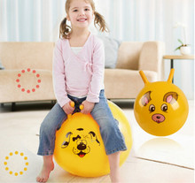 1PCS New PVC Material Bouncing Balance Ball 10' Thickened Size Inflatable Massage Jumping Ball for Children Health Care