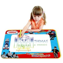 Free Shipping Thomas Water Magic Painting Canvas Kids Water Drawing Mat Water Doodle Baby Toy Drawing Board Eco-friendly