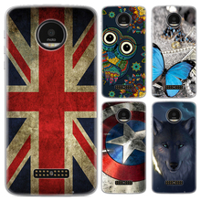 Phone case For Motorola Moto Z/Moto Z Droid/xt1650-05 5.5-inch Cute Cartoon High Quality Painted TPU Soft Case Silicone Cover