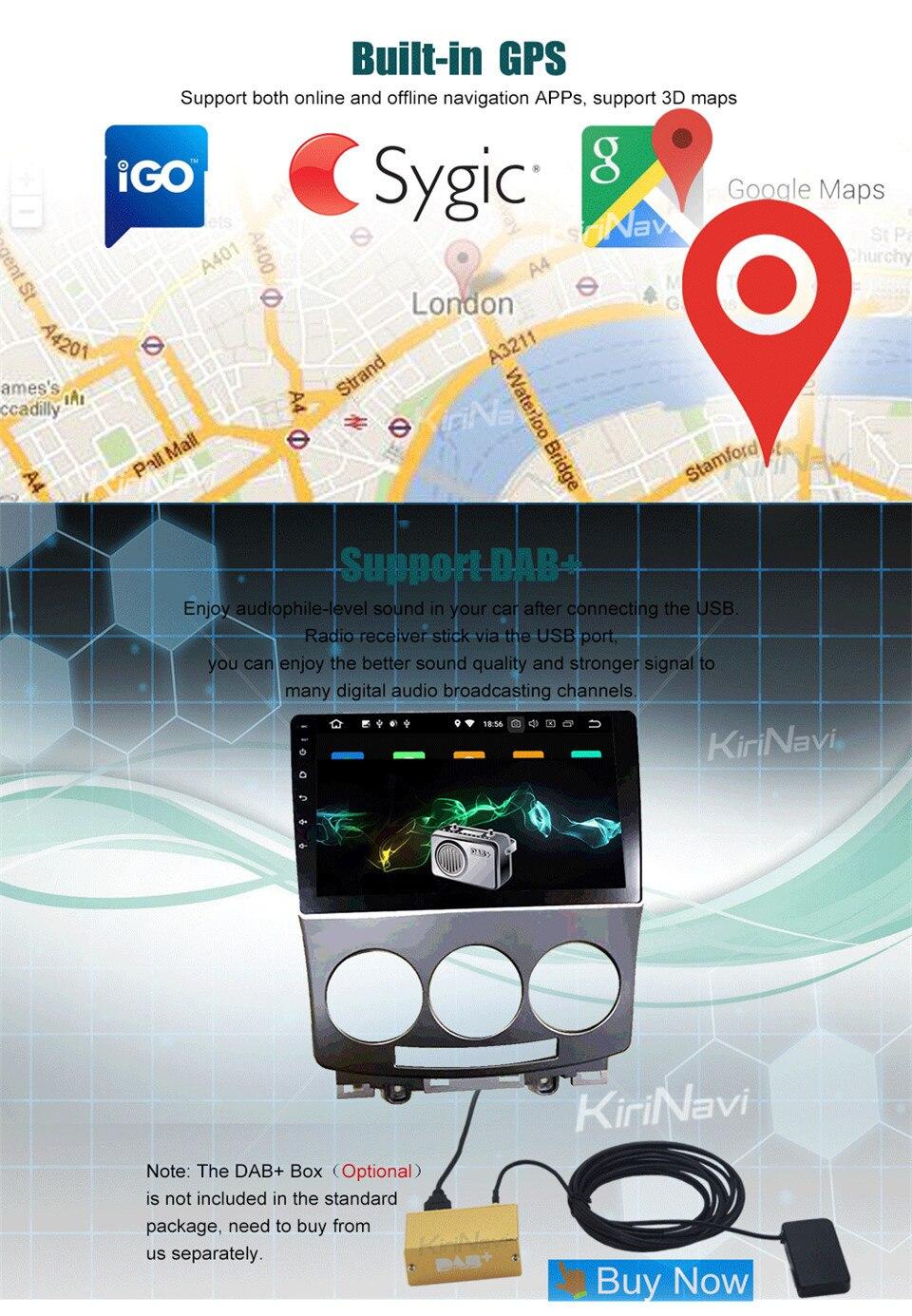 KiriNavi Radio for Mazda 5 (8)
