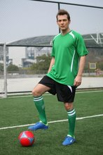 men best quality blank  soccer sets adult blank football  jerseys male sports equipment sportswea can customized name and number