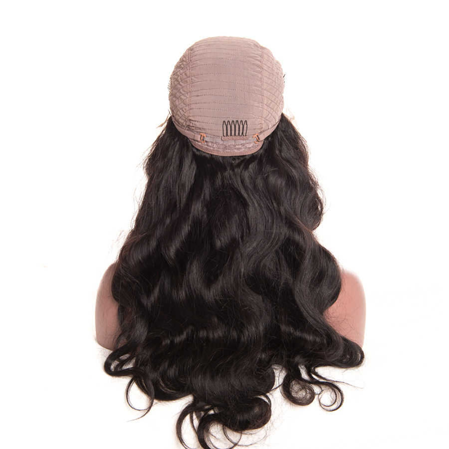 [ALIPOP] Pre Plucked Brazilian Lace Front Human Hair Wigs With Baby Hair 8''-24'' Body Wave Non-Remy  Lace Wig For Black Women