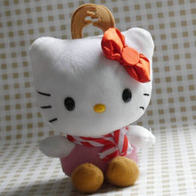 "hello kitty Dress in Reindeer cute siut Decor toy stuffed plush doll toy 15cm 6""(China)"