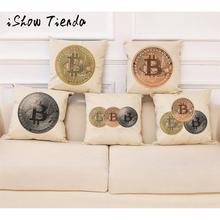 Buy Home Decor Cushion Cover Bitcoin Decorative Coins Throw Pillowcase Pillow Covers Fronha Travesseiro for $2.85 in AliExpress store