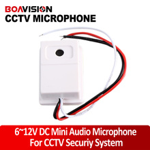 Audio pick up CCTV High sensitivity sound monitor mini microphone/cctv microphone/sensitive microphone