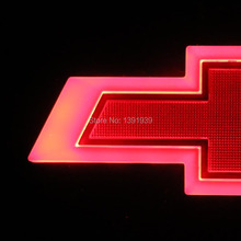 170x55mm Car led light Red/Blue/White for Chevrolet Trax Sonic Cruze Camaro Volt Spark Bolt Tahoe Orlando Captiva