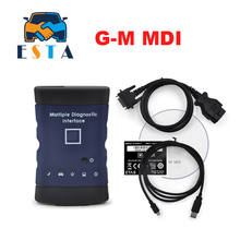 Top selling G-M MDI 2017.3 software tech2 win GDS2 software in CD Multiple auto diagnostic Interface OBD2 Scanner DHL Free(China)