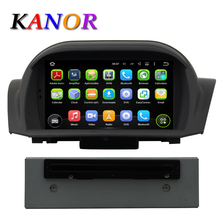 KANOR Quad Core Android 5.1 Car DVD GPS For Ford Fiesta 2012 2013 2014 2015 2016 with Radio Navigation Multimedia