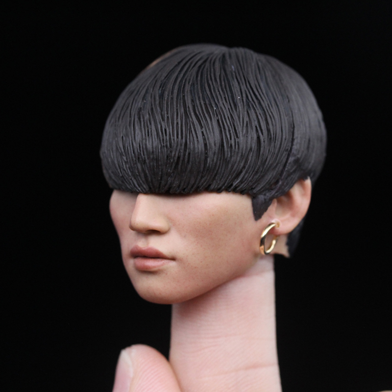 "1:6 BigBang DAESUNG South Korean Singer Head Sculpt For 12/"" Male Action Figure"