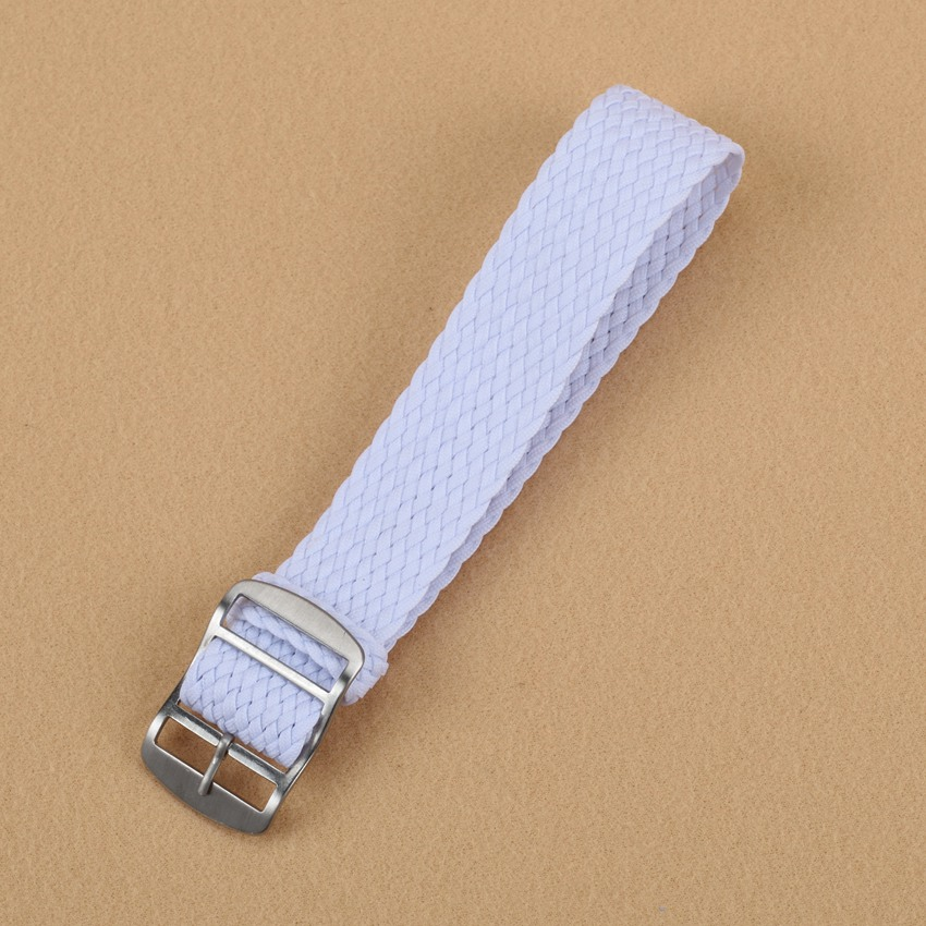 New Arrivals 20 mm Perlon Nato Woven Fiber White watchband 20mm Nylon Watch Straps Wristwatch Band Buckle Cheap fabric<br><br>Aliexpress