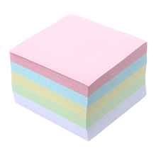 Memo Note Pad Paper Notepad Gift 500 Pages 5 Colors Stationery(China)