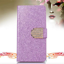 Buy Nokia Lumia 535 Fashion Bling Glitter Case Microsoft Lumia 535 Skin Cover Flip Wallet Diamond Crystal Leather Phone Bag for $3.59 in AliExpress store