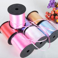 New Colors1 PCS 250Yard Balloons Ribbons Laser Ribbon for Party Decoration Birthday Wedding Decoration DIY Accessories 220m(China)