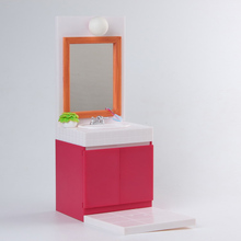 Toilet Table Action Figure 1/6 scale painted figure Girl Figure Vanities Model PVC figure Toy Brinquedos Anime(China)
