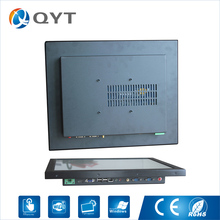"17"" industrial all in one pc Inter j1900 fanless noiseless panel pc with 2GB RAM 32G DDR3 Resistive touch1280x1024(China)"
