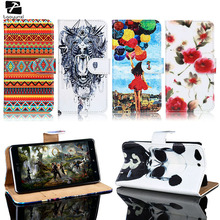 TAOYUNXI PU Leather Cell Phone Case For ZTE Blade S6 Q5 Q5-T Housing Cover Card Holders AWallet Flip Bag For ZTE Blade S6 Case